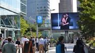 荷兰阿姆斯特丹金融区户外电子屏广告招商