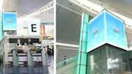 东京国际机场(羽田国际机场)国际航站楼LED广告屏