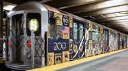 纽约地铁广告形式一览