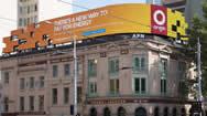 澳大利亚墨尔本户外电子广告牌