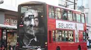 英国伦敦户外公交车广告概述
