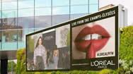 海外地标电子屏:伦敦韦斯特菲尔德商场LED广告牌