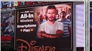 美国纽约时代广场大屏幕之迪士尼专卖店DISNEY STORE