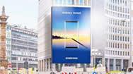 米兰圣巴贝拉广场-Corso Venezia电子广告牌