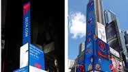 美国时代广场American Eagle地标户外广告