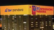 洛杉矶DTLA高速公司大型电子屏幕The Reef