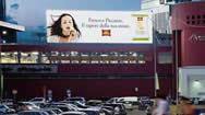 米兰加里波利斯车站LED电子屏