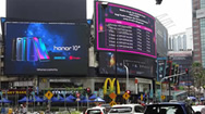 吉隆坡Lot 10购物中心广告屏