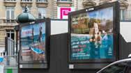巴黎市中心滚动广告牌120套装