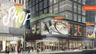 美国费城市中心LED广告牌