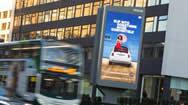 英国曼彻斯特市中心Manchester One电子屏