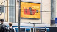 荷兰阿姆斯特丹市中心Leidseplein广场户外LED广告屏