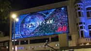 荷兰阿姆斯特丹伦勃朗区LED广告大屏