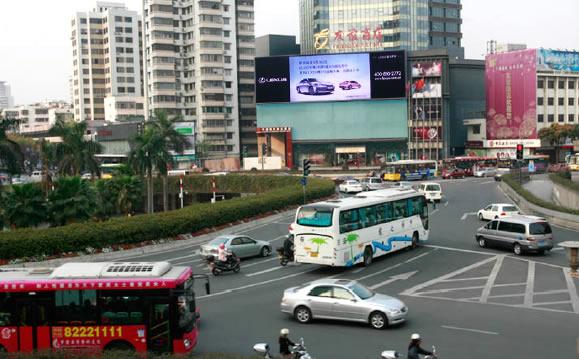 佛山国际商业中心LED大屏