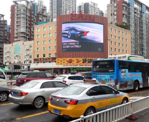 福州-红旗大饭店LED大屏