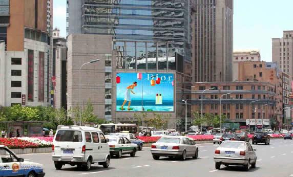 大连天安国际大厦LED大屏幕