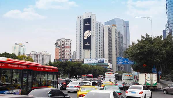 广州外经贸大厦Led大屏