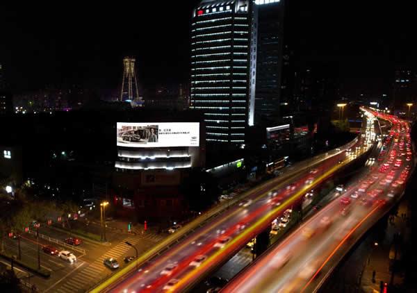 杭州中河高架小S屏
