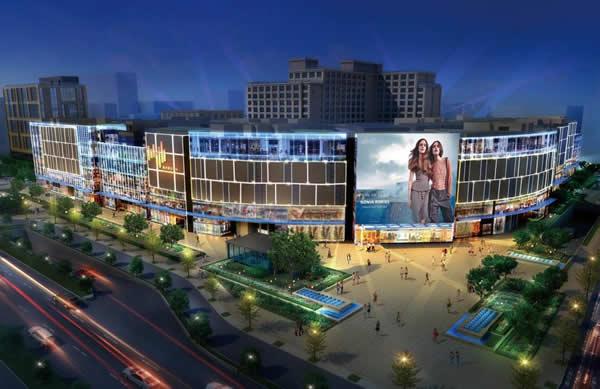 杭州延安路嘉里中心潮屏-LED屏广告