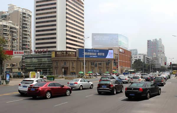 厦门福联路易国际LED大屏