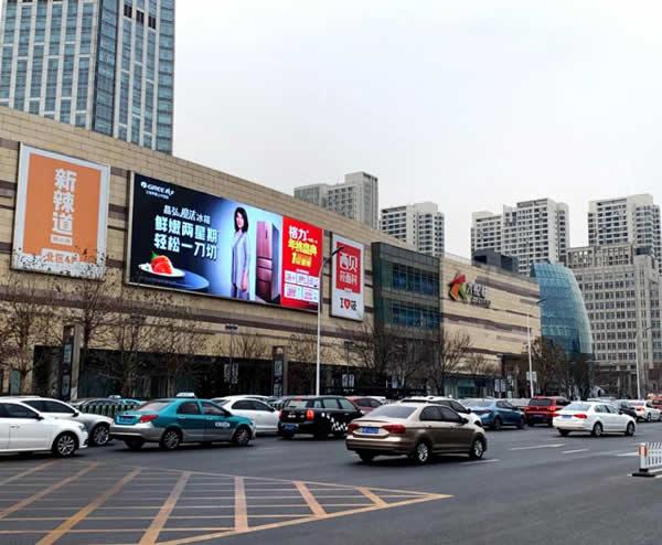 天津南开大悦城商场北区墙体LED大屏