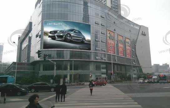 无锡胜利门广场茂业亿百LED