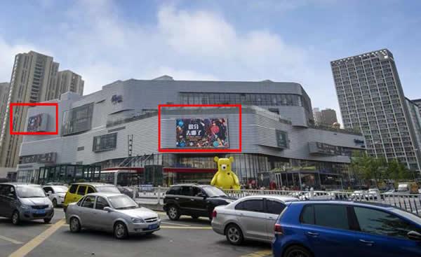 青岛凯德mall商场LED大屏