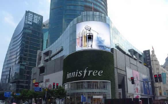 上海宏伊国际广场LED广告
