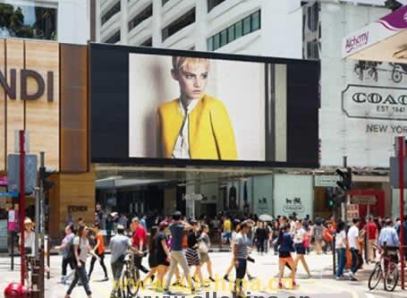 香港尖沙咀海港城LED广告牌