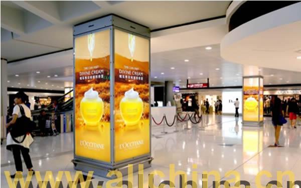 香港国际机场广告电子喷绘灯箱广告