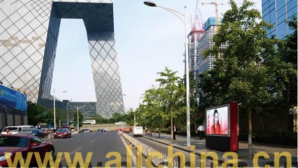 北京国贸CBD电子LED小屏幕套装