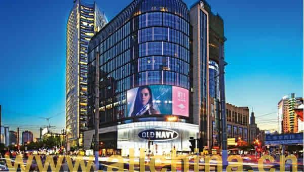 上海南京西路静安寺百乐门LED大屏幕