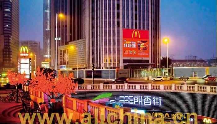 天津小白楼凯德国贸LED电子屏