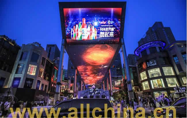 北京东大桥路世贸天阶户外大屏广告价格