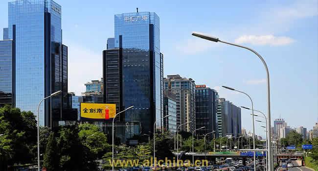 北京东二环中汇广场大屏电视广告